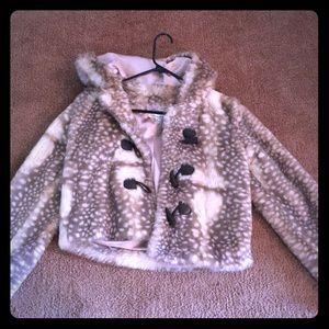 Forever21 fur jacket